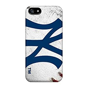 New York Yankees Case Compatible With Case For HTC One M7 Cover Hot Protection Case