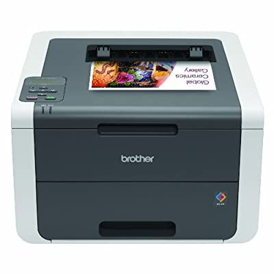 Brother Printer HL3140CW Digital Color Printer with Wireless Networking, Amazon Dash Replenishment Enabled