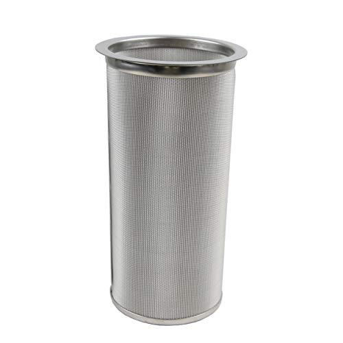 Cold Brew Kit Wide Mouth Mason Jar Filter for Brewing Coffee Infused Tea, 100 Micron Mesh ()