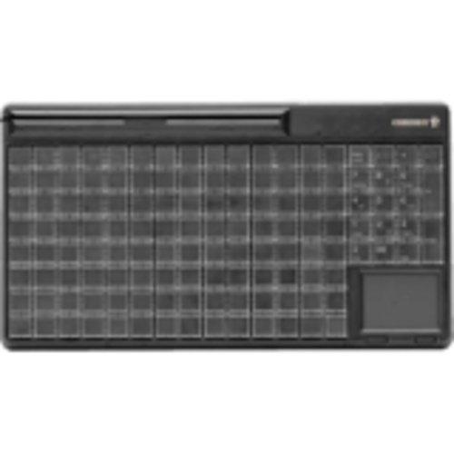 CHERRY G86-63401EUADAA B 1810 CHERRY, G86-63401, KEYBOARD, BLACK, 14IN, USB, TOUCHPAD, 13 Cherry G86-63400 Keyboard Black 14in Usb 142 Position Rows Columns Key
