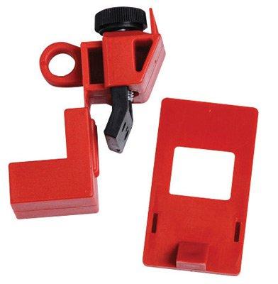Brady® Red Impact Modified Nylon And Polypropylene 120/277 V Clamp-On Circuit Breaker Lockout by Brady USA