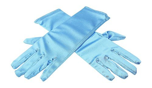 HXL Elsa Inspired Girls Ice Princess Blue Gloves Costume Age3-7 Accessories Gift (Elsa Costumes For Girls)