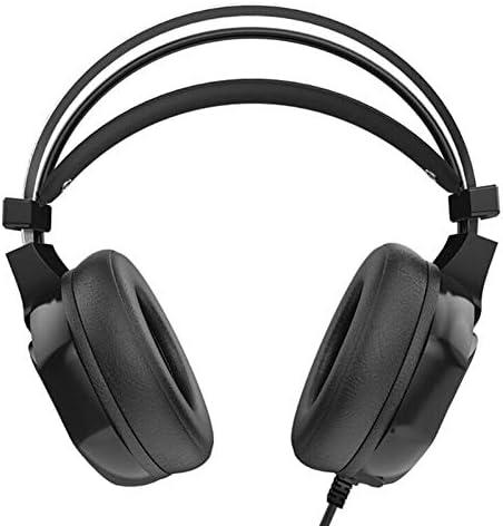 Blue-Ocean-11 V9 Game Deep Bass Game Headphone Stereo Over-Ear Gaming Headset Headband Noise Reduction Headset Earphone for Computer PC Gamer
