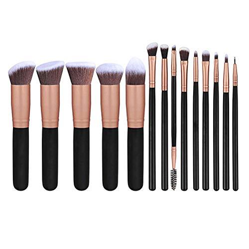 Makeup Brushes Premium Synthetic Foundation Powder Concealers Eye Shadows Makeup 14 Pcs Brush ()