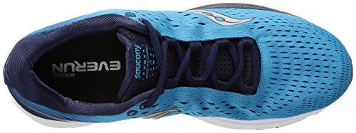 Iso de Chaussures Femme Saucony Blue 3 Triumph Navy Course zwnA1