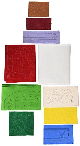 Bucilla Felt Applique Advent Calendar Kit, 18 by 24-Inch, 86507 Elf on The Shelf