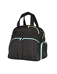 Lug Boxer Gym/Overnight Duffel Bag, Midnight Black