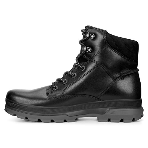 ECCO Rugged Track, Zapatillas de Deporte Exterior para Hombre Negro (Black/black)