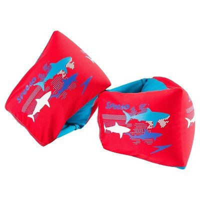 speedo-kids-begin-to-swim-level-2-fabric-armbands-red-sharks