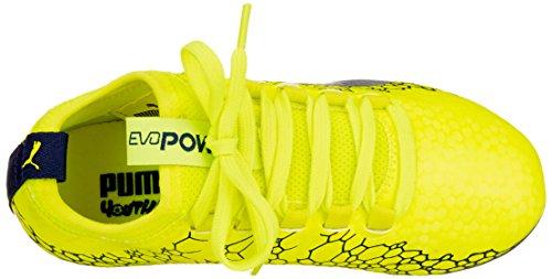 Vigor Scarpe Da – Puma Graphic Yellow Depths Unisex 3 Calcio silver Evopower Jr Bambini Giallo blue Ag safety 1w5BfqKpxB