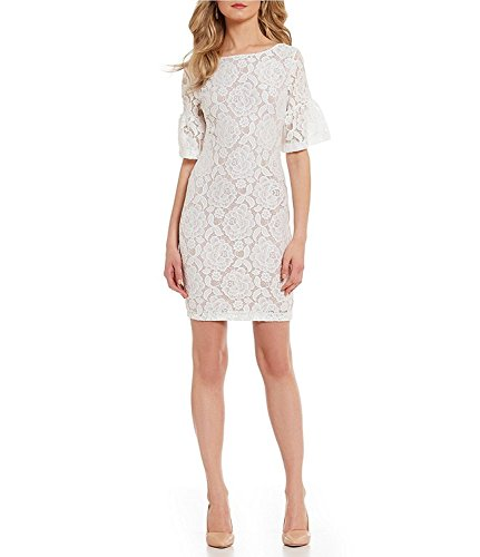 Buy bell bottom sleeve dress - 7
