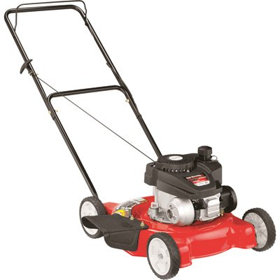 Yard Machines 140cc 20-Inch Push Mower (Mower Gas Push Lawn)