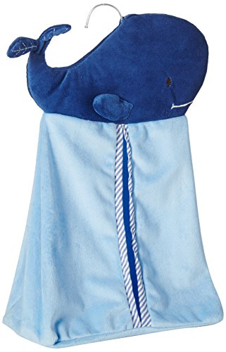 Levtex Home Baby Diaper Stacker, Blue Whale from Levtex home