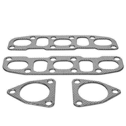 DNA Motoring GKTSET-350Z-G35 Aluminum Exhaust Manifold Header Gasket Set Replacement ()