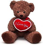 "Bears For Humanity 16"" I Love You Bear,"