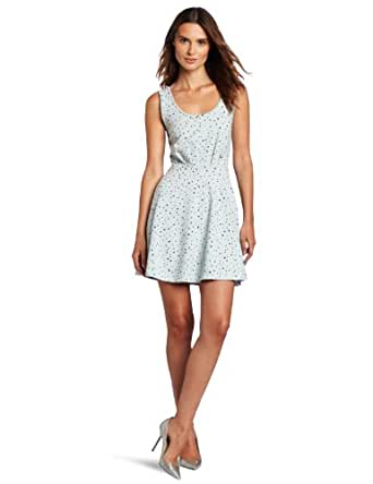 BCBGeneration Women's Ponte Tank Dress, Dewdrop Combo, Small