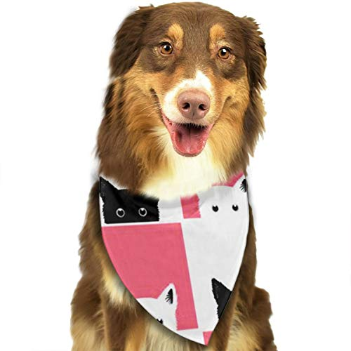 OURFASHION Cute Kittens Feline Baby Bandana Triangle Bibs Scarfs Accessories for Pet Cats and Puppies]()