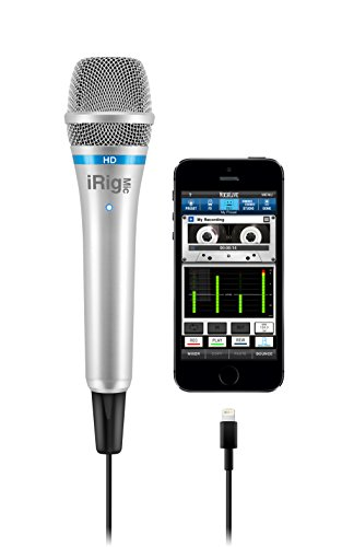 IK Multimedia high definition handheld microphone product image