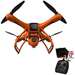 "NEW Wingsland Minivet Drone with 5"" LCD Screen 12 MP Camera 1080p 30 Frames Video Capture, FPV, POI, Normal Flight modes, and 3-Axis Gimbal"