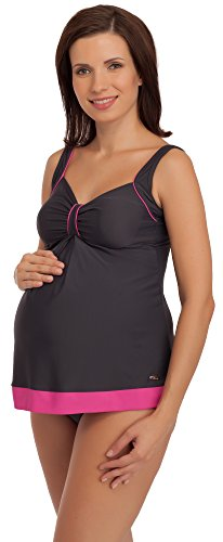 Be Mammy Umstandstankini GRACE Graphite/Rosa