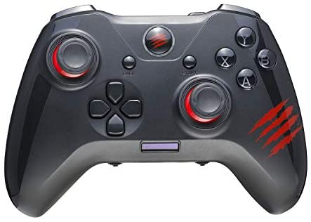 Mad Catz The Authentic C.A.T. 7 Wired Game Controller – Black (GCPCCAINBL00)