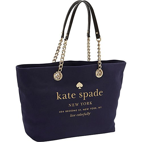 Kate Spade New York East Broadway Coal Tote Navy (Kate Spade Coal)