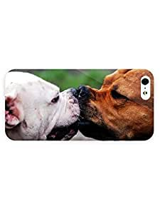 3d Full Wrap Case For Iphone iphone 4s Cover Animal Bull Terriers
