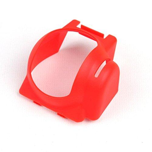 putars Evita el deslumbramiento y Lens Flare Sombrilla Parasol Glare Gimbal Cámara Protectora para DJI Mavic Pro Drone, Rojo