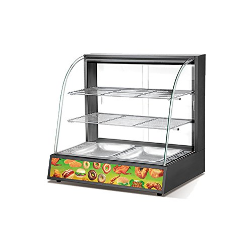 Chip Warmer (Air Circulation System Food Display Showcase Food Warmer Display Fired Chicken Chips)