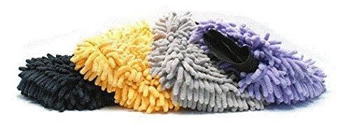 Micro-Chenille Wash Mitt 4-Pack