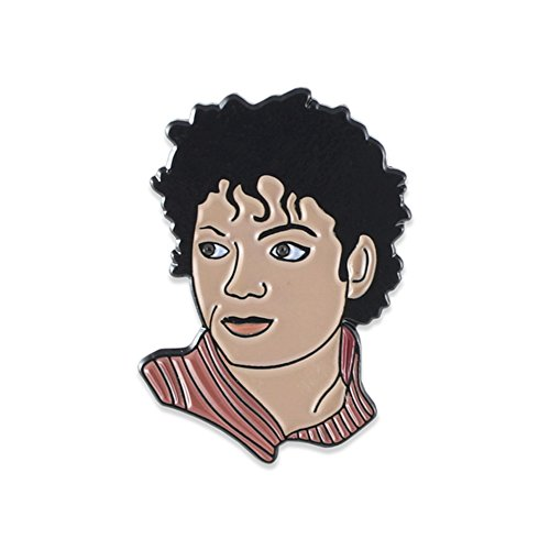 Legendary Pop Icons Celebrity Musical Artists Enamel Lapel Pins- Michael ()