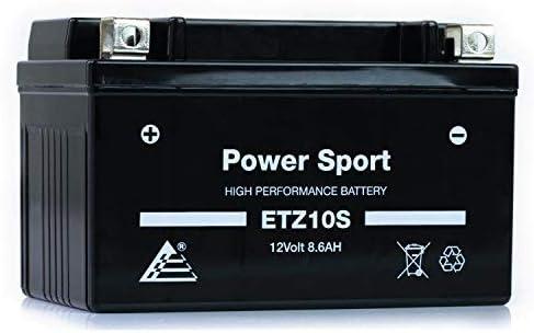 ExpertPower ETZ10S 12V8.6AH Replacement Battery for Yuasa YTZ10S Honda CBR600RR 03-04,05-06