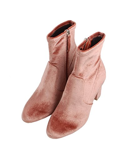 Mujer Avenue Madden Steve para Botines Rosa 7TqII5
