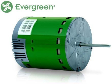 GE • Genteq Evergreen 1/2 HP 230 Volt Replacement X-13 Furnace Blower (Blower Motor Furnace)