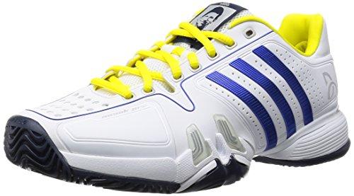 adidas Novak Pro, Scarpe Sportive Uomo Multicolore (Blanco / Azul / Amarillo (Ftwbla / Reauni / Amabri))