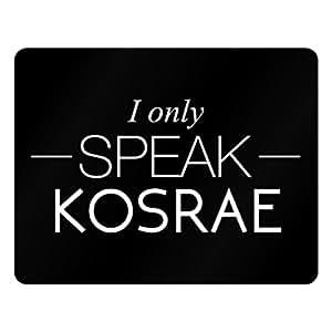 Idakoos I only speak Kosrae - Cities - Plastic Acrylic