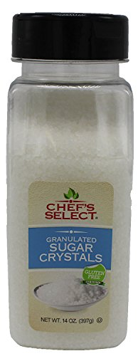 Chef's Select White Sugar Crystals 14oz - Value Size