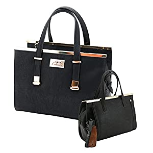 Strategic Cutting Edge Group 49077 Cora Concealed Carry Purse: Black,