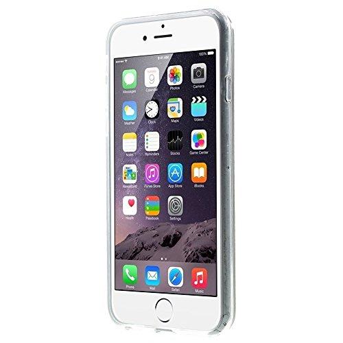 Apple iPhone 6/6S Étui Housse Case Gel/TPU Amérique Drapeau multicolore decui Multicolore/TPU Coque en gel