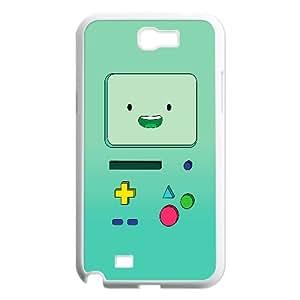 Bmo Cartoon Samsung Galaxy N2 7100 Cell Phone Case White TPU Phone Case SV_032216