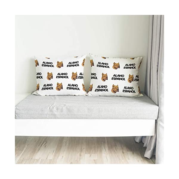 Personalized Pillow Case Alano Espanol Dog Breed Style A Polyester Pillow Cover 20INx28IN Design Only Set of 2 4