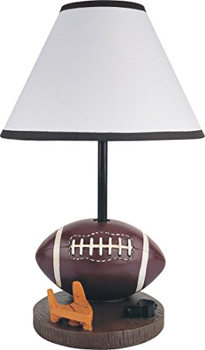 """Price comparison product image SH Lighting 31604ft Poly Resin Football Table / Desk Lamp,  15.75"""" H"""