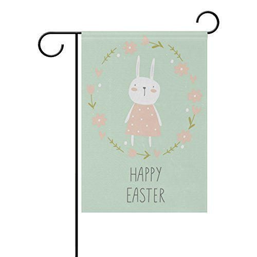 cute easter little bunny polyester