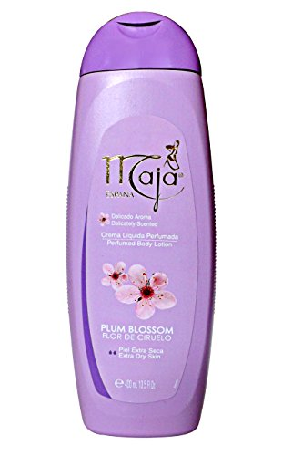 Perfumed Lotion (Maja Perfumed Body Lotion Extra Dry Skin 13.5 oz. Flor De Ciruelo/Plum Blossom)