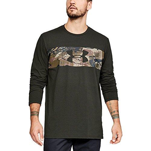 Under Armour Men's Banded Camo Long sleeve, Artillery Green (357)/Bayou, XXX-Large