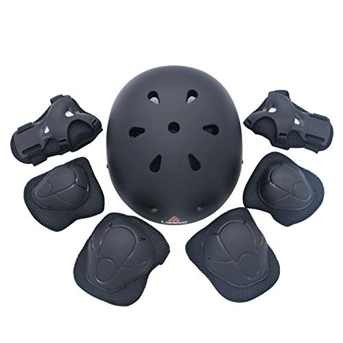 Skating Protective Gear Sets Elbow Knee Pads Wrist Protector Protection for Scooter Roller Skating Skateboard for Kid