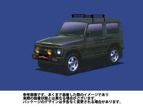 ルーフキャリア PL22 ジムニー / SJ30 JA11V JA12V Pシリーズ スチール×ブラック塗装 タフレック TUFREQ 精興工業 B06Y123Z89