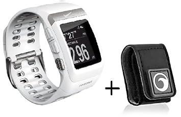 6bc6404720 Nike+ SportWatch GPS ナイキスポーツウォッチ ホワイト/シルバー◇フットセンサー&センサー用ポーチ
