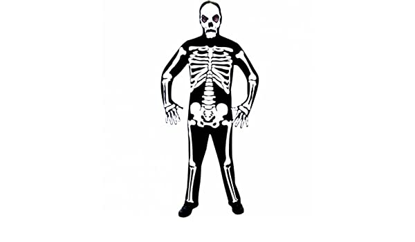 Christy`s 996204 - Disfraz de esqueleto para hombre (adulto ...