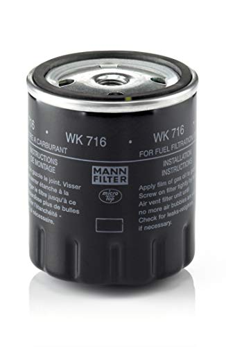 Mann-Filter WK 716 Fuel Filter (Diesel Männer)